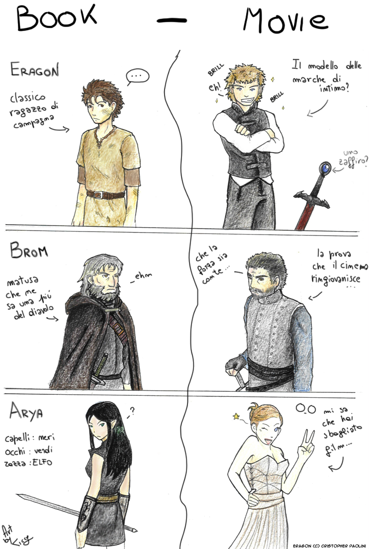 For Alagaesia: Fan Arts inspired by Inheritance Cycle