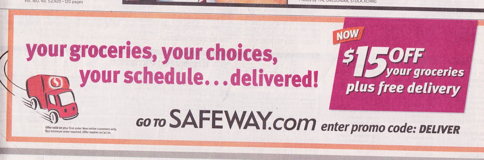 Fresh Easy Buzz Safeway Wants to Grow its OnlineHome Delivery