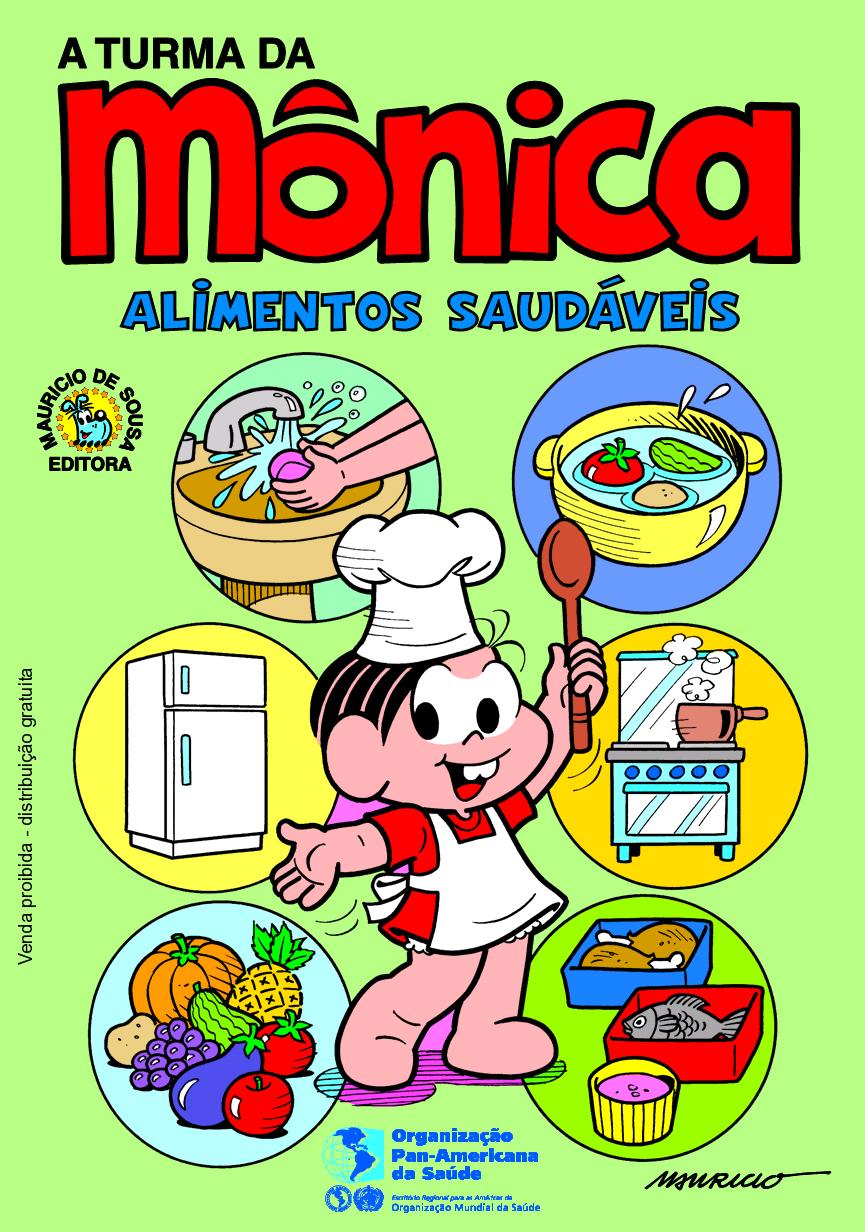 Desenho De Alimentos Saudaveis