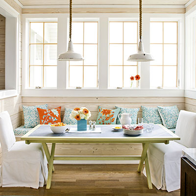 breakfast nook ideas in with banquette dining enjoywithluh 11160