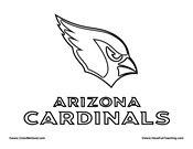 cardinls coloring pages | Arizona Cardinals Football Coloring Pages Coloring Pages