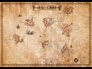 Map Of Pirates Of The Caribbean Old Maps, Expeditions and Explorations: GEOGRAPHY OF PIRATES OF