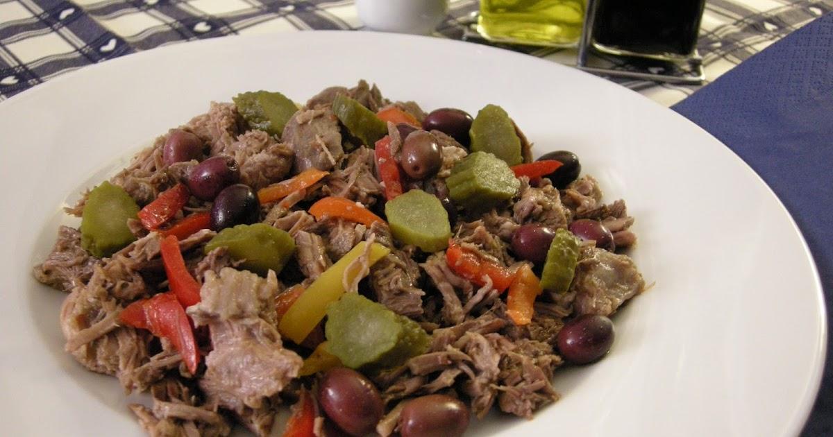 Frullato di ricette salpicon insalata di carne for Cucinare cetrioli