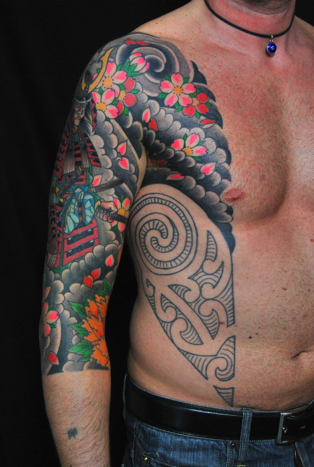 Tatuaggi colorati donna for Tatuaggi idee uomo