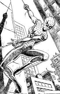 spider girl coloring pages - photo#16