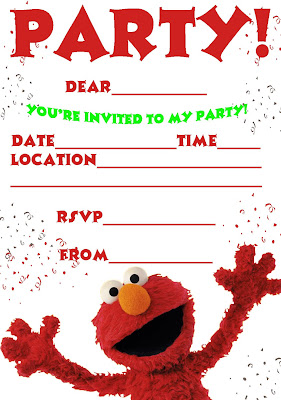 elmo template for invitations - elmo 39 s song