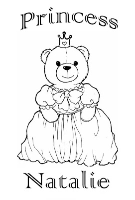 natalie name coloring pages | PRINCESS COLORING PAGES
