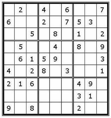 image relating to Kids Sudoku Printable referred to as Sudoku No cost Printable: Trouble Description