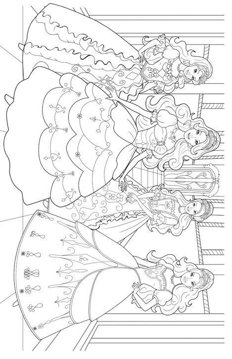 Elmo christmas coloring coloring pages for Princess barbie coloring pages
