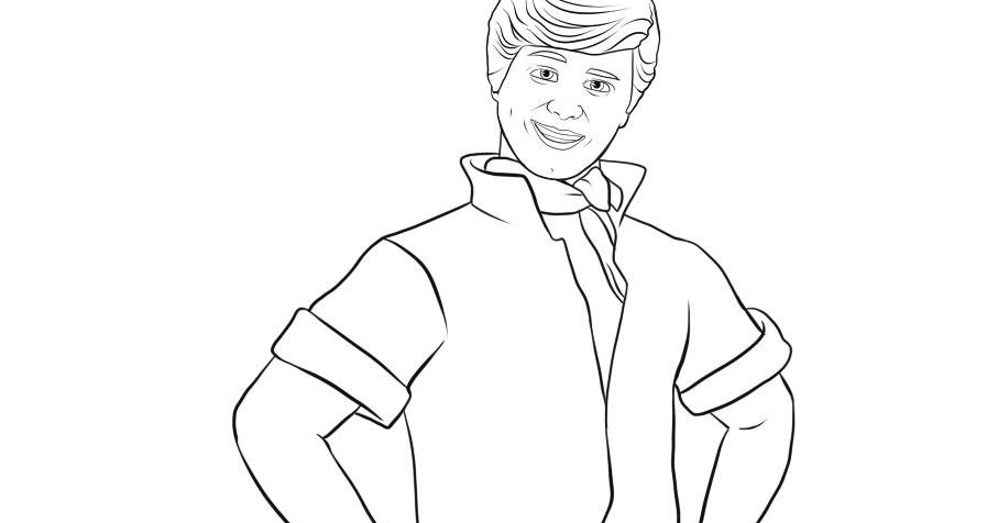 BARBIE COLORING PAGES: COLORING PAGE OF KEN FROM TOY STORY 3