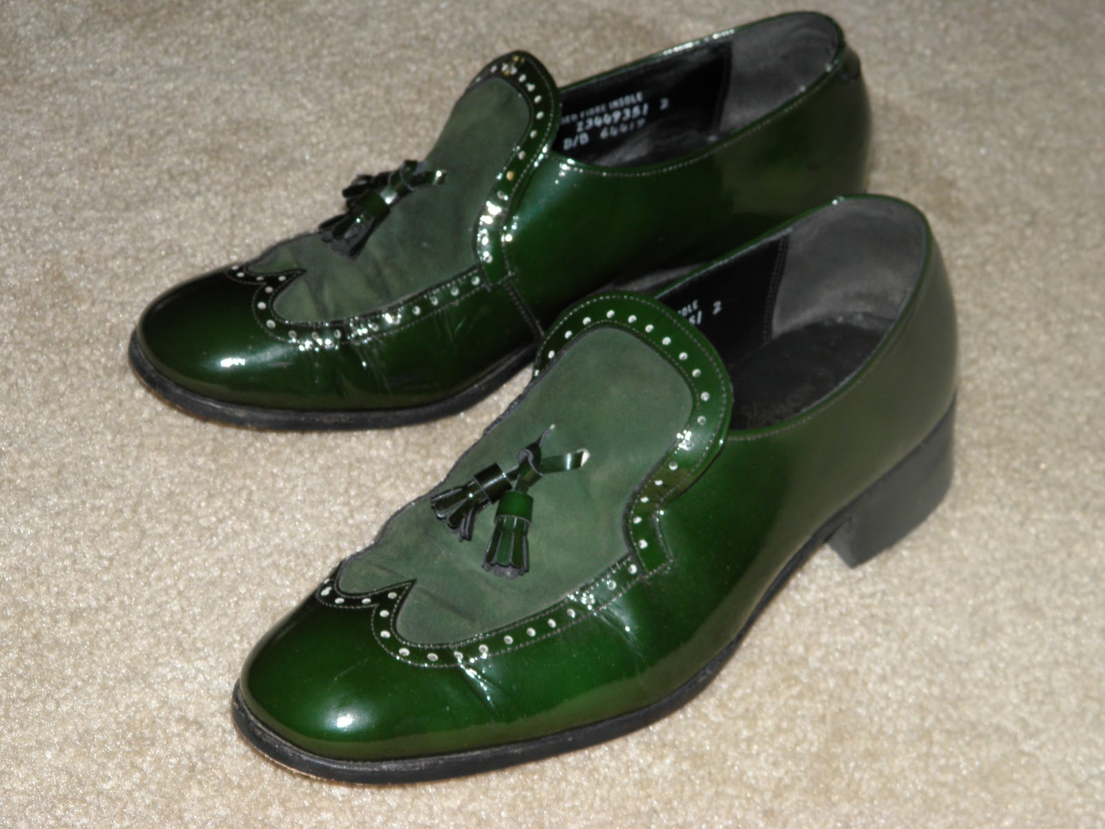 From Yard Sale to Ebay  Money in the pocket  Stetson Loafers - Irish ... 0142e7040d3