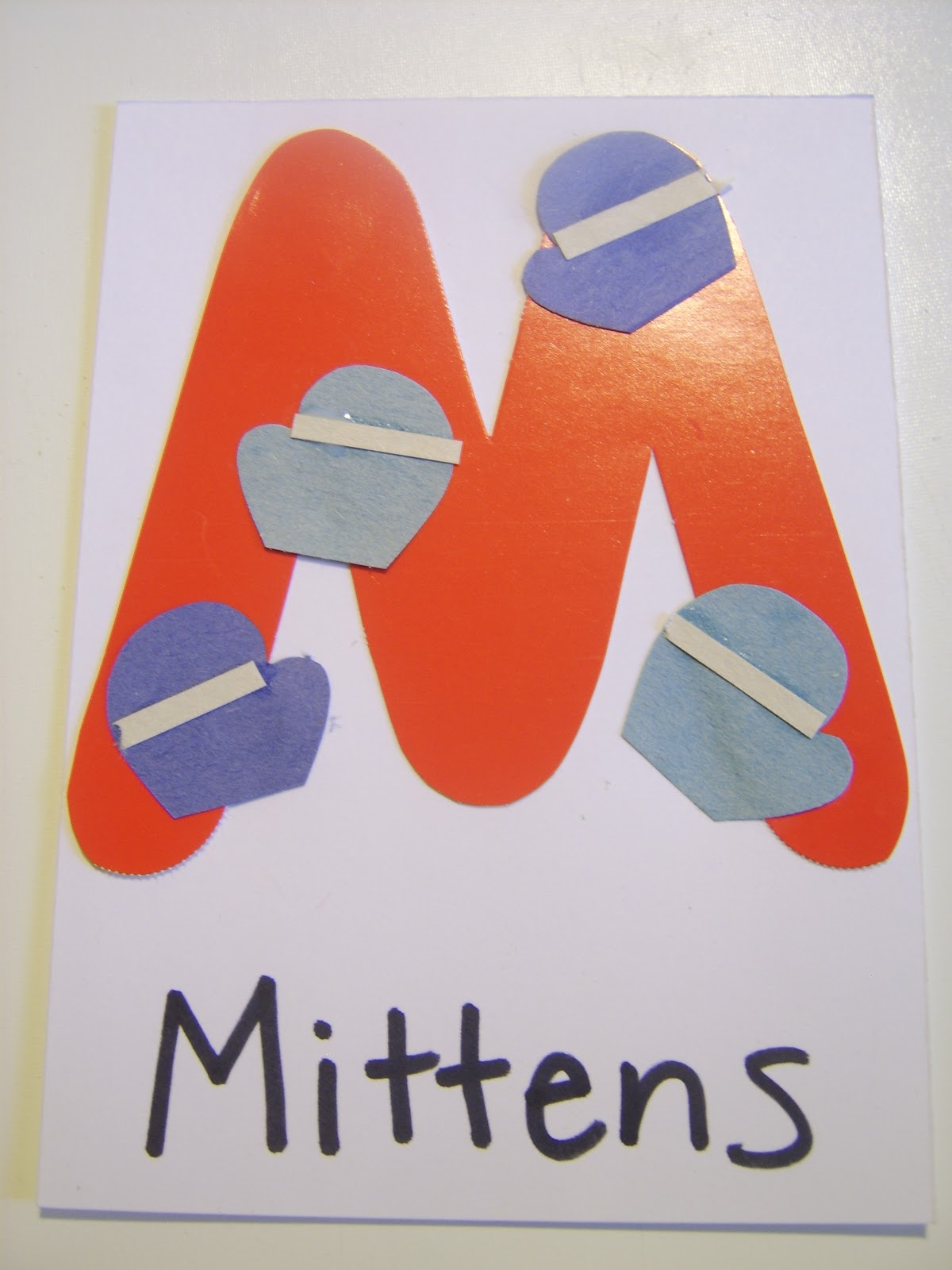 Little Family Fun M Is For Mittens