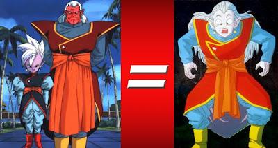 Kibito y Kaioshin/Kaiosama se fusionan mediante la técnica de los pendientes pothala, en forma de ejemplo para mostrar a Goku como se hace, lo que no saben
