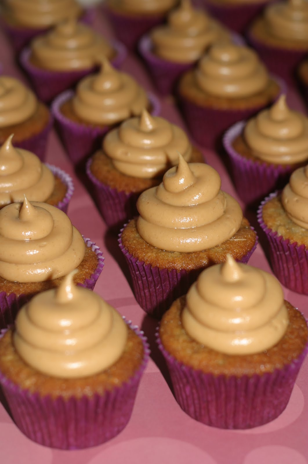 Banana Cake With Peanut Butter Mousse Filling