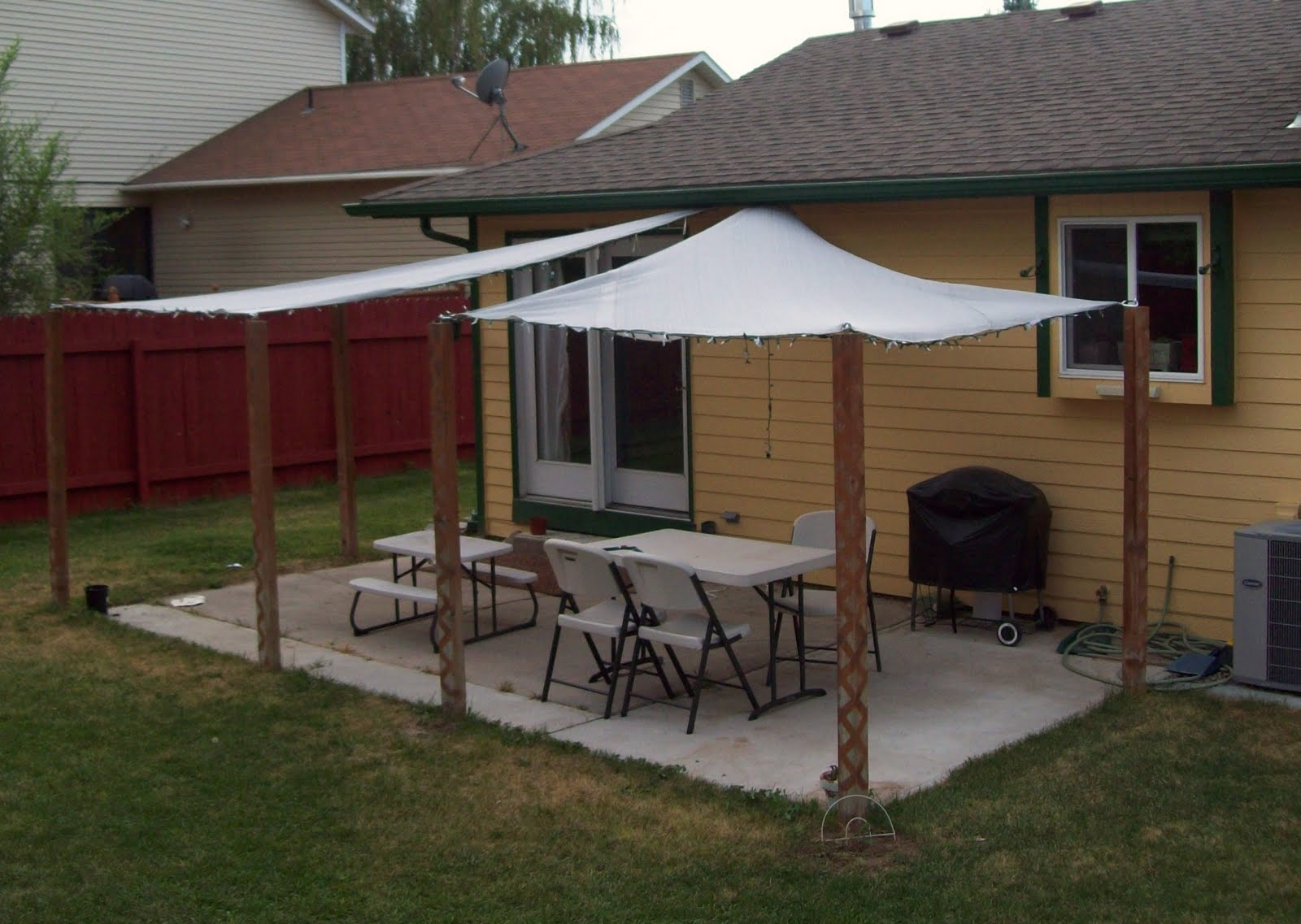 Running With Scissors: Patio Shade Sails