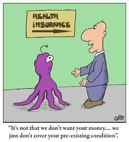 Brain Bounce Funny Cartoon Humor Health Insurance Cartoons Pre Existing Conditions