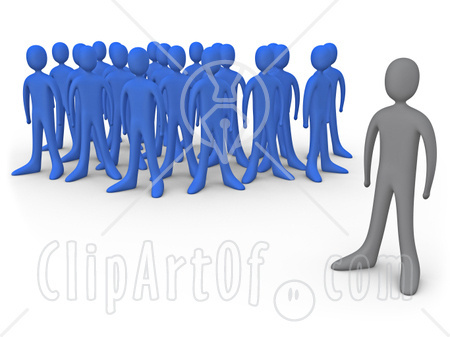 One Person Standing Out In A Crowd Noel and the World: Wh...