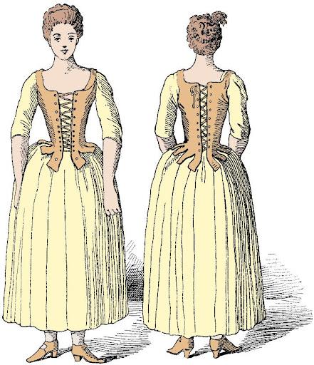 18th Century Provencal Undergarments