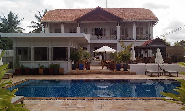 Bambu Hotel in Battambang, Cambodia