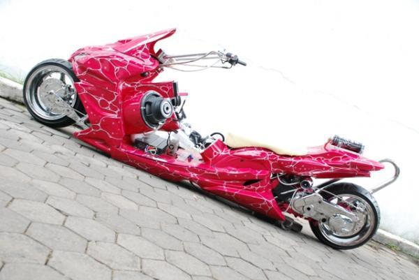 Motor Modification: Yamaha Mio