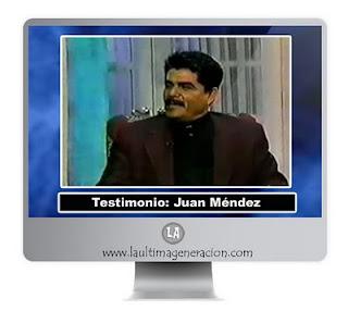 Ex testigo Juan Méndez