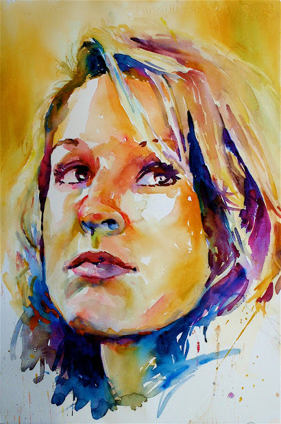 David Lobenberg Sunday' Watercolor Portrait Workshop