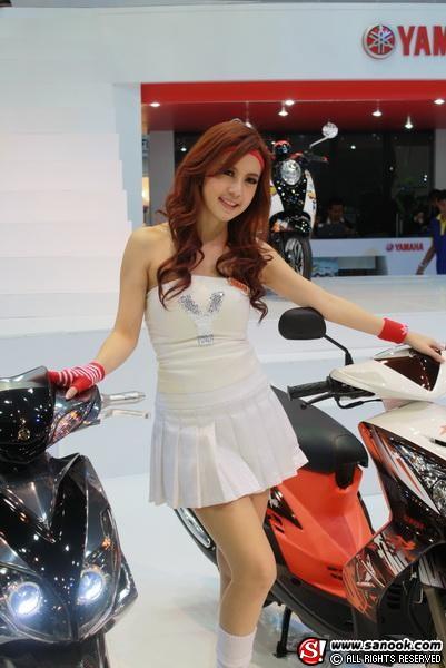 Asian Cute Idol Pretty, Motor Show 2010 Yamaha-2055