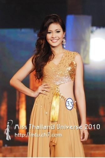 The Celebrities: Miss Thailand Universe 2010, Fonthip ...