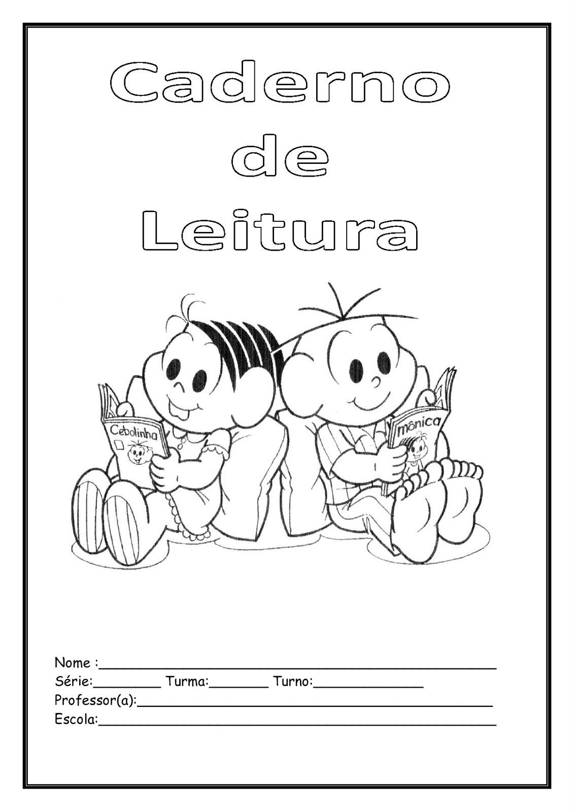 Nosso Espaço Da Educação Capas De Cadernos Infantis Prontas