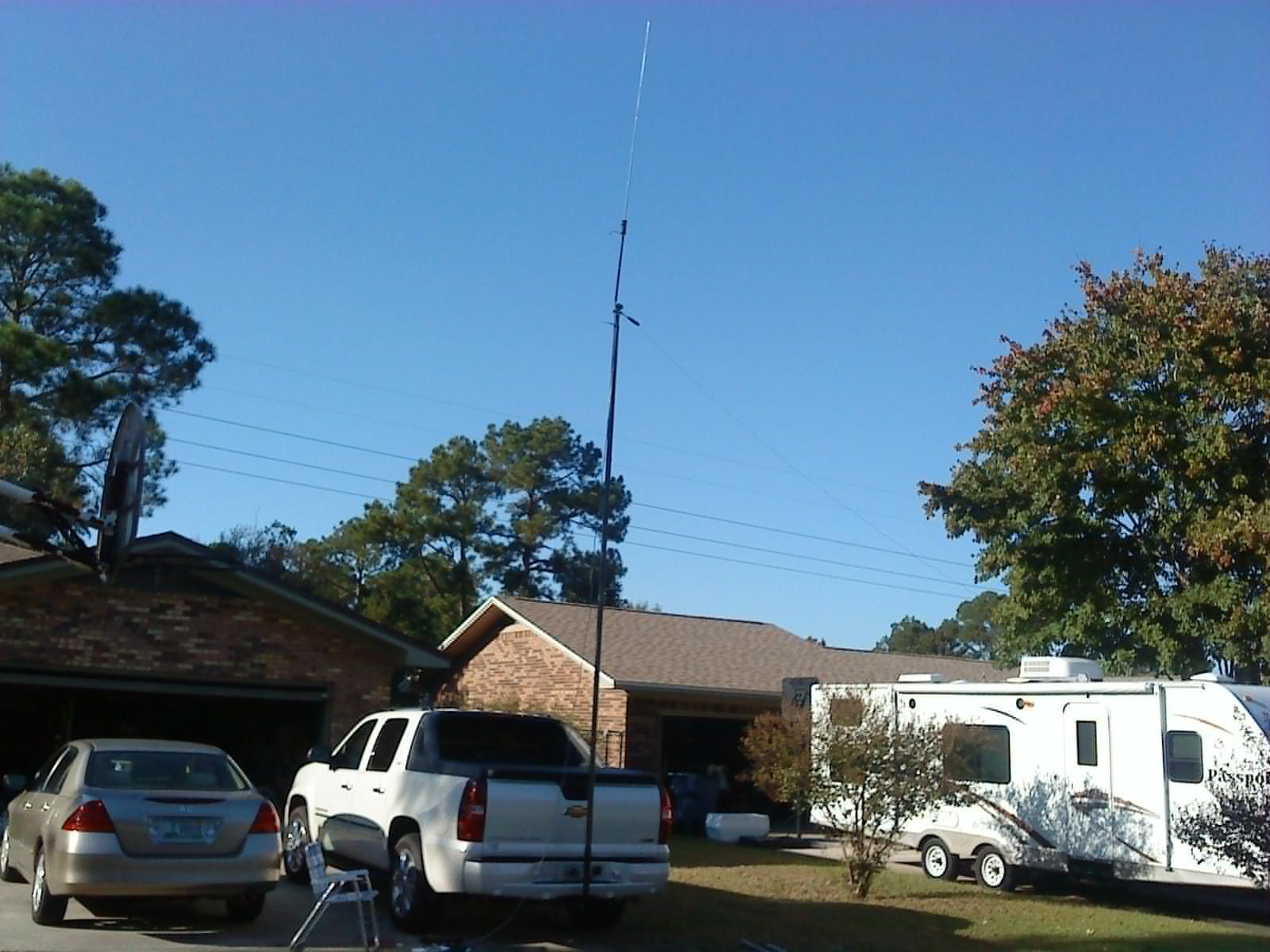 N4KGL - RaDAR: Portable Antennas based on hitch mount mast