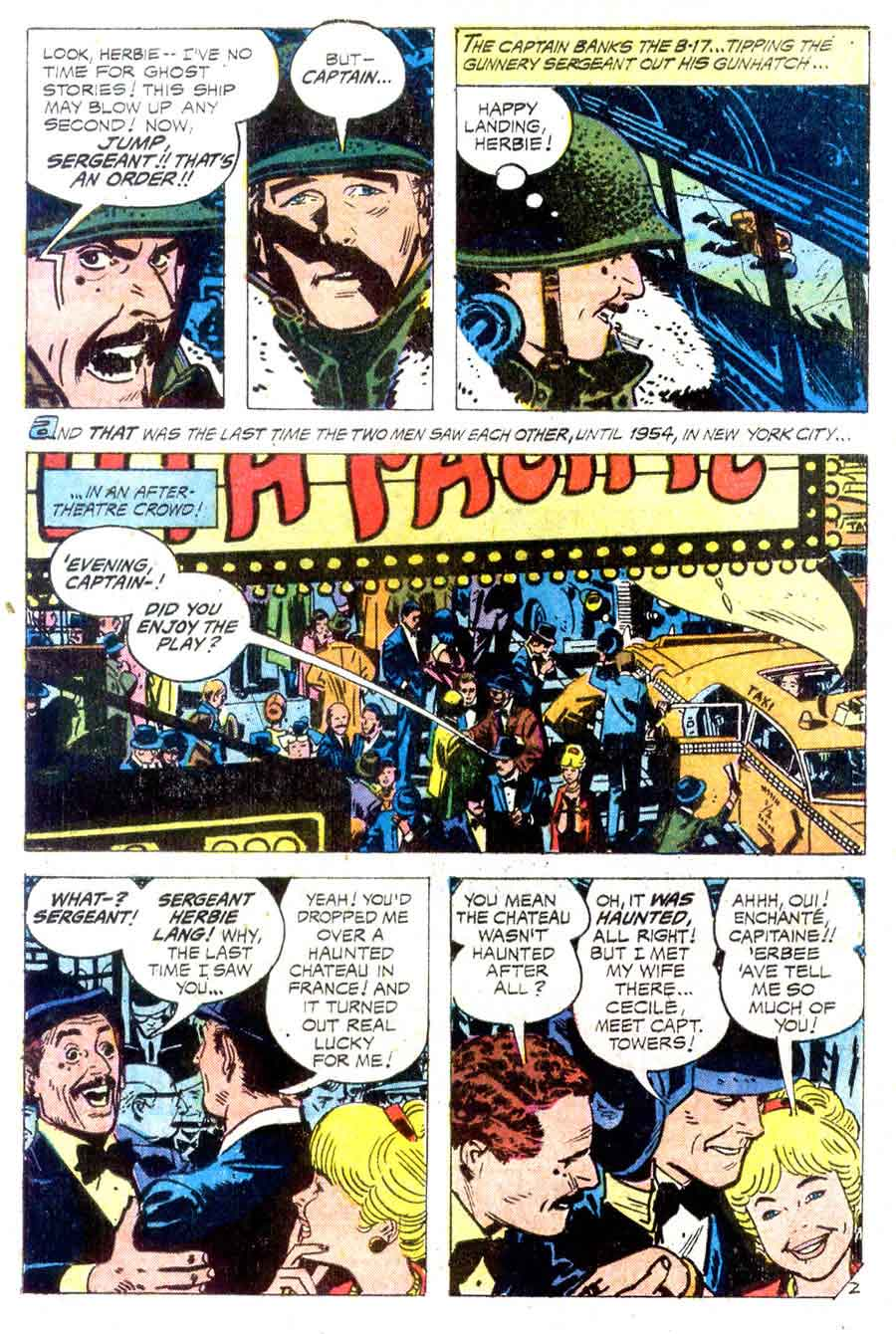 Weird War Tales v1 #10 dc bronze age comic book page art by Alex Toth