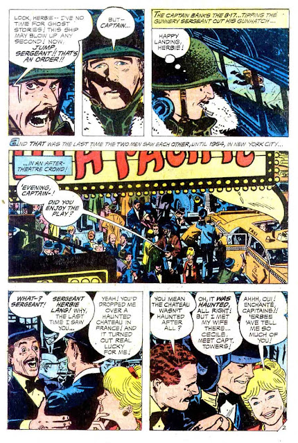 Weird War Tales v1 #10 dc bronze age comic book page art by Alex Toth