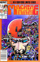 Machine Man v2 #2 marvel 1980s comic book cover art by Barry Windsor Smith