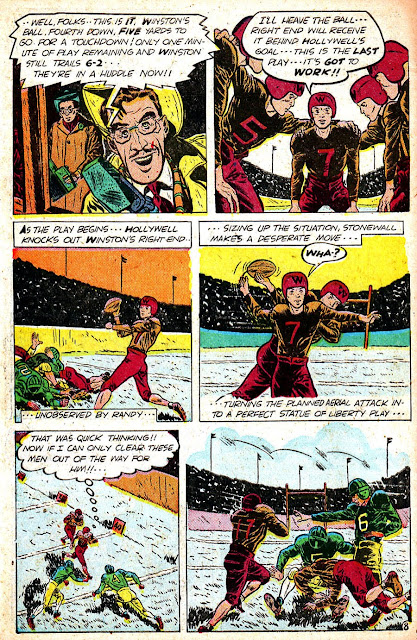 Sugar Bowl v1 #3 golden age comic book page art by Alex Toth