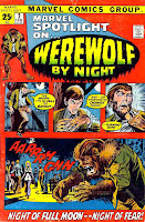 Marvel Spotlight v1 #2 Werewolf by Night marvel comic book cover art by Neal Adams