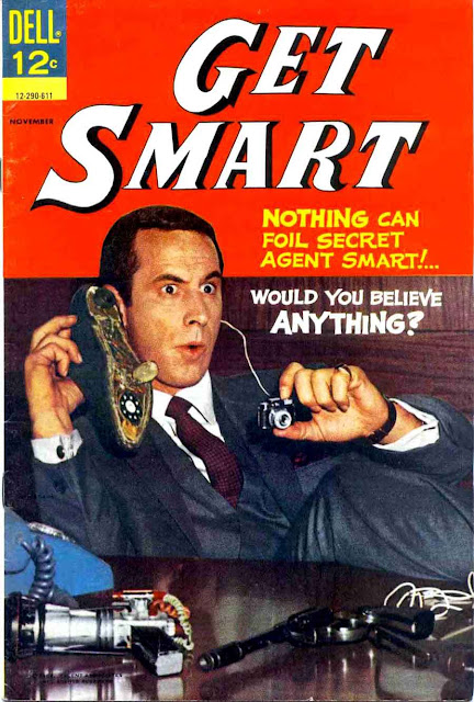 Get Smart v1 #3 - Steve Ditko silver age tv humor dell comic book page art