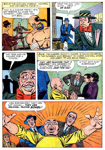 Get Smart v1 #2 - Steve Ditko dell tv 1960s silver age comic book page art