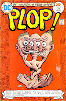 Plop v1 #11 dc bronze age comic book cover art by Basil Wolverton