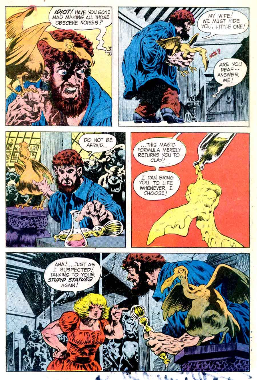 Plop v1 #5 dc 1970s bronze age comic book page art by Bernie Wrightson