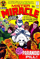Mister Miracle v1 #3 dc 1970s bronze age comic book cover art by Jack Kirby