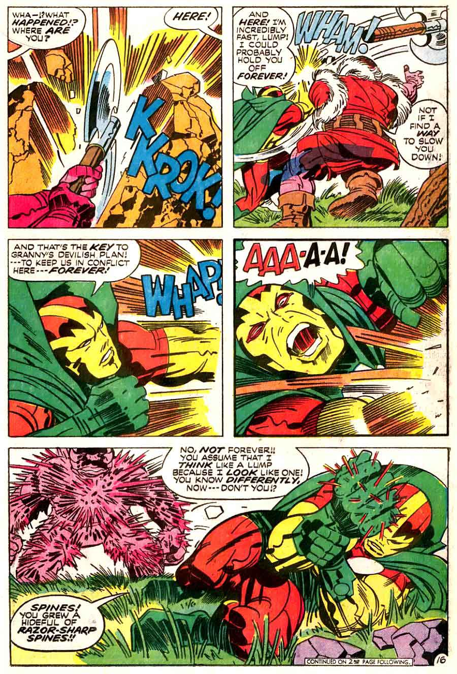 Mister Miracle v1 #8 dc 1970s bronze age comic book page art by Jack Kirby