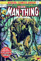 Man-Thing v1 #1 marvel 1970s bronze age comic book cover art by xxxxx