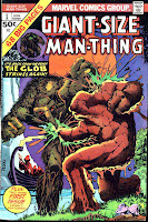 Giant-size Man-Thing v1 #1 marvel 1970s bronze age comic book cover art by Mike Ploog art