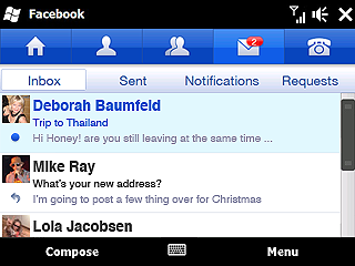 facebook windows mobile