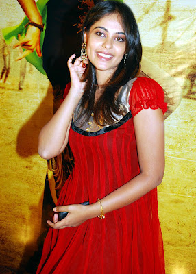 Bindu Madhavi red photos
