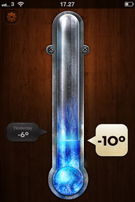 Thermo app for iPhone