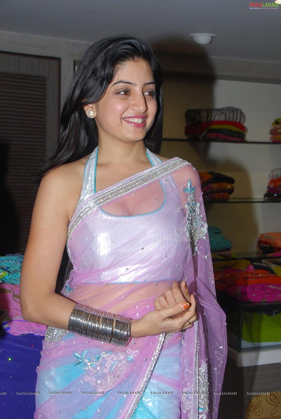 Cute Photos Poonam Kaur Hot In Saree New Photos-5145