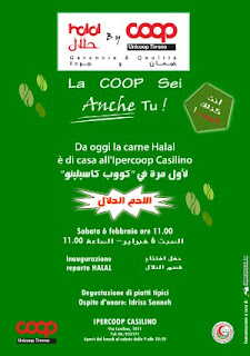 Inaugurazione halal corner al casilino