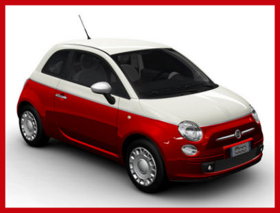 5ooblog fiat 5oo new fiat 500 bicolore two tone version. Black Bedroom Furniture Sets. Home Design Ideas
