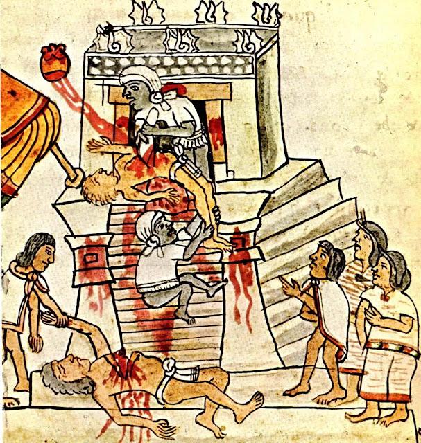 Execução ritual registrada no Códice Magliabechiano